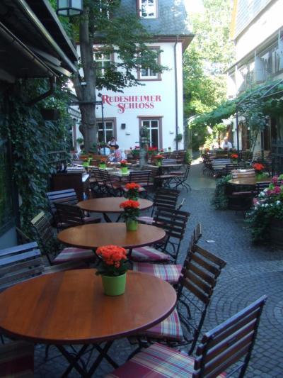 2016.8 フランス・ドイツ・オーストリア 一人旅⑨ ~リューデスハイム散策~
