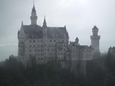 2016.8 フランス・ドイツ・オーストリア 一人旅⑬ ~霧の中のノイシュバンシュタイン城~