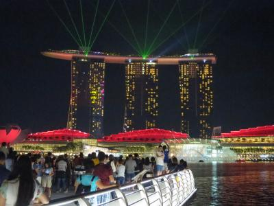 社員旅行でシンガポールへ (2) 富の泉へ行って、夕食はチリクラブ・・・そしてマリーナ・ベイでレーザーショーを??