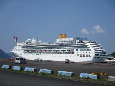 コスタビクトリア 日本海と釜山クルーズ 6日間