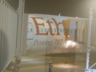 エチオピア航空でブラジルへ