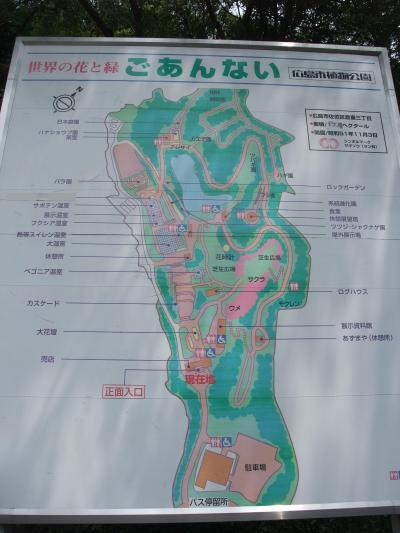 広島市植物公園を訪問しました(高校生時以来)