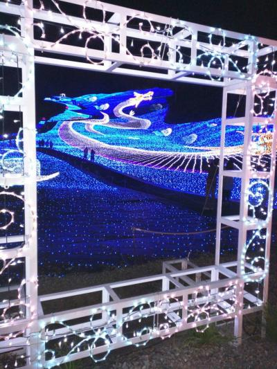 双竜を見に妙高へ~2016 Myoko Happiness Illumination~