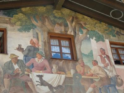 オーストリアのチロル&エーアヴァルト、ドイツのバイエルンの旅 【83】 ウンターアマガウで途中下車