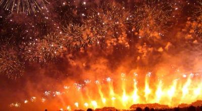 感動の赤川花火大会2016
