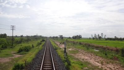 ラオス南部はオフシーズン その22 鉄道の旅・列車に乗ってバンコクへ