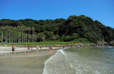 南伊豆の海:弓ヶ浜にて