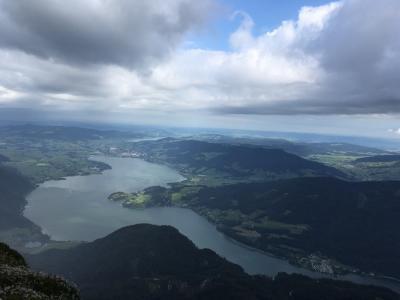 美しい風景に会いたくてオーストリアへ(3日目 ザンクトヴォルフガングからハルシュタットへ)
