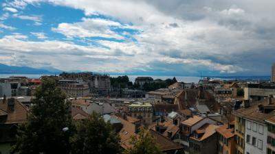 夏のスイス&イタリア旅行! 初日
