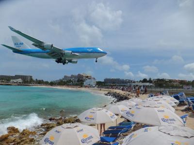 飛行機オタクで無くとも、一度は体験してみたい ☆セントマーチン島☆ でリゾートしてから、溺愛する ☆ニューヨーク☆ へ!!
