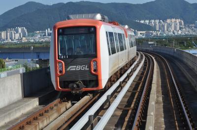 2016年8月韓国鉄道旅行3(釜山からソウルへ)