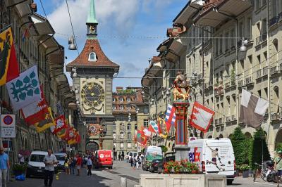 好天の7月初めのスイス10日間(8)−ベルン(7日目)−