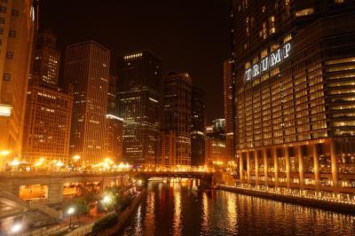 夜行列車で行く、シカゴindependence day trip①