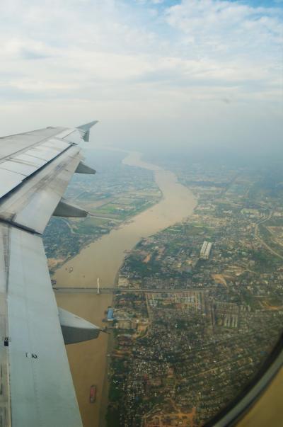 タイ実家訪問とミャンマーの旅 Part 9 - バンコクエアウェイズ ヤンゴン→バンコク
