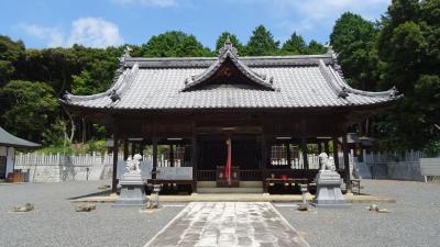 サマーイルミ鑑賞の旅(06) 加西市 八王子神社の参拝。