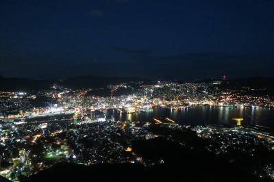 仕事の合間に長崎の夜景を見てきました