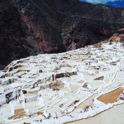 マチュピチュ&カンクンの旅①インカの聖なる谷巡りチンチェーロ、モライ、マライの塩田、オリャンタイタンボ