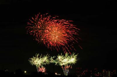 守口市市制施行70周年記念「守口市花火大会」最大2.5号玉を含む5000発の花火