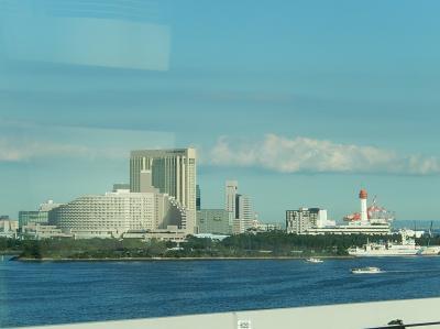 国際展示場正門〜新橋間でユリカモメから見られる風景
