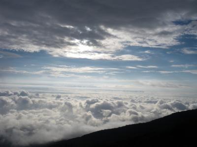 富士登山と箱根