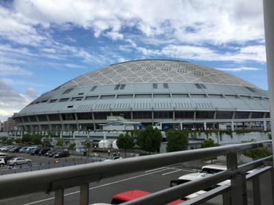 2016ナゴヤドーム観戦とヒルトン名古屋