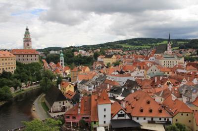 中世の街並みが響く中欧5ヶ国の旅(その2)~チェコ・チェスキークルムロフ~