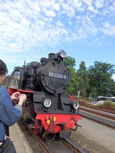 Day 5-1 北部ドイツ旅行記 (蒸気機関車モリー号)