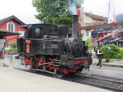チロル・ドロミテ・ザルツカンマーグート 10日間の旅の思い出⑨アッヘンゼー鉄道