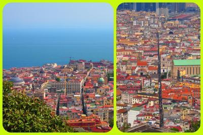 Buongiorno~~!ゆるゆる~~わが家の南イタリア旅 2 ★ヴォメロの丘から、ナポリのパノラマを堪能!国立サン・マルティーノ美術館(旧修道院)、サンテルモ城★