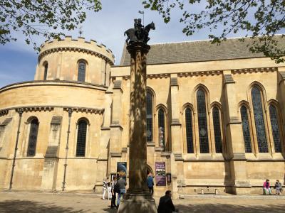 イギリス:UK2016-London(ロンドン)-3~Temple Church(テンプル教会)~