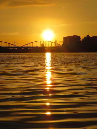 淀川の夜明けと夜釣り、久しぶりの釣りです(^0^)/