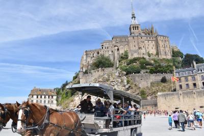 初めてのフランス旅行~3日目・絶景が広がるモンサンミッシェル~