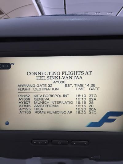 ローマ フィレンツェ ヘルシンキの旅②