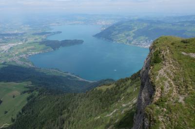 スイス観光2016 初めてのルツェルン リギ山日帰りハイキングの旅