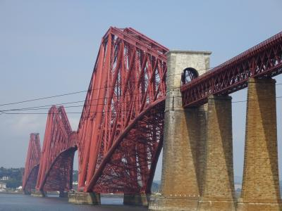 エディンバラ ミリタリータトゥで「蛍の光」を歌う♪♪  その② フォース鉄橋を見に行く