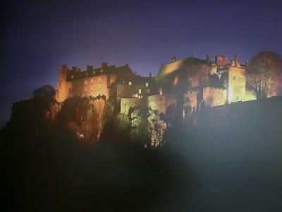 スコットランドの古城を車で巡る旅(1)            スターリング城
