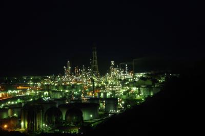 思い立って大阪と和歌山の工場夜景