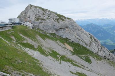 スイス観光2016 初めてのルツェルン ピラトゥス山日帰りハイキングの旅