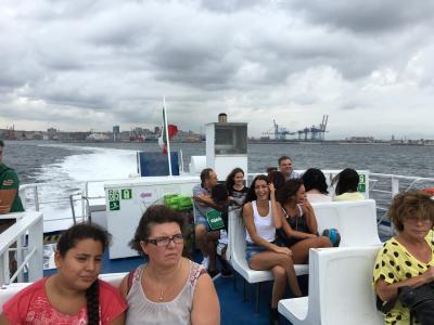 ナポリからイスキア島へ半日観光 2016年9月