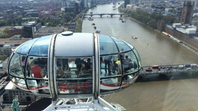 イギリス:UK2016-London(ロンドン)-6~ロンドンアイ、その他散歩~