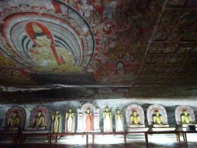 2016夏 スリランカ part5  文化三角地帯・スリランカ最大の石窟寺院を訪ねる