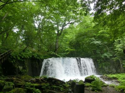 初めての東北は夏の青森 「奥入瀬渓流」を見たかったの!(その3)阿修羅の流れ~銚子大滝