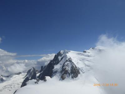 5度目のスイス旅行 6日目 イタリア経由エギーユ・ミデイ展望台