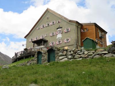 オーストリア チロル州ゼルデン フェント村、ロフェナへからHOCHJOCH HOSPIZへ その2 2016年【12】