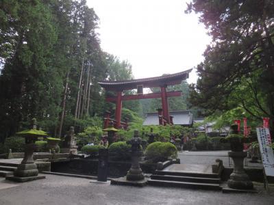 御朱印をいただきに、北口本宮冨士浅間神社の巻