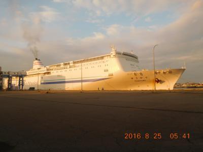 北海道:新日本海フエリー旅