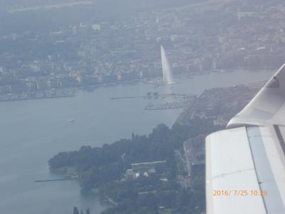 5度目のスイス旅行 7・8日目 ジュネーブ・フランクフルト経由帰国