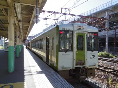 4トラの日本地図塗りつぶしの旅 最後の新潟県へ (3日目)帰路は磐越西線・会津若松経由で