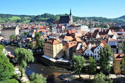 ドイツ・チェコ・ハンガリー・スロバキア・オーストリアのドライブ2087.3キロの旅 NO.4 チェコの素晴らしい世界遺産の街チェスキークルムロフとチェスケーブディェヨヴィツェとテルチ