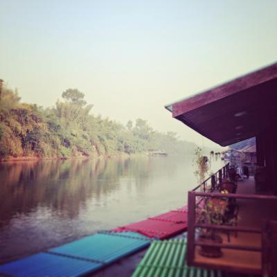2015年タイ旅行  カンチャナブリのいかだリゾート